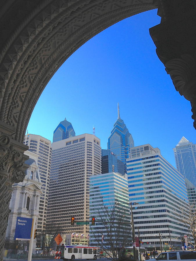 Doorway To Philadelphia Photograph  - Doorway To Philadelphia Fine Art Print