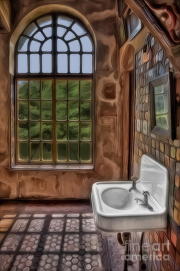 Dormer And Bathroom Photograph