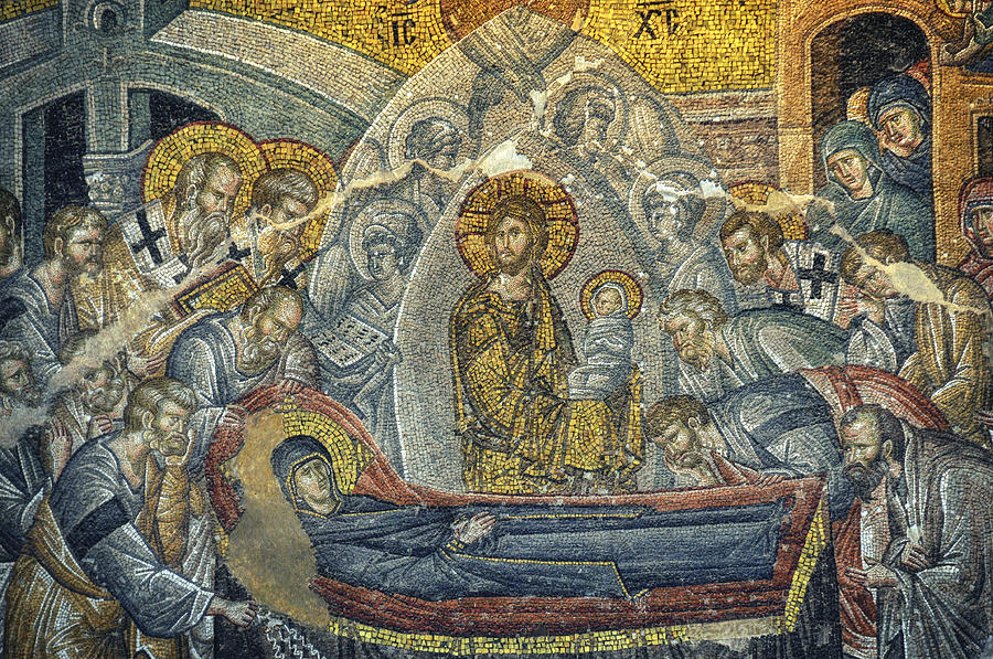 Dormition Of The Virgin Photograph  - Dormition Of The Virgin Fine Art Print