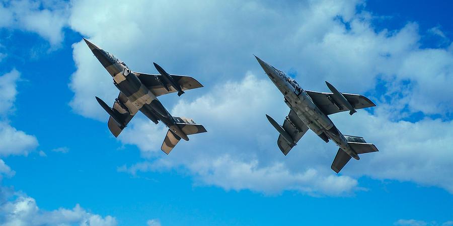 Alpha Jet Photograph - Dornier Alpha Jets by Bianca Nadeau
