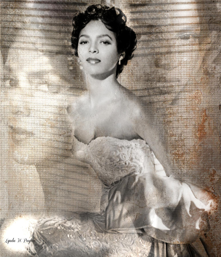 Dorthy Dandridge Digital Art  - Dorthy Dandridge Fine Art Print