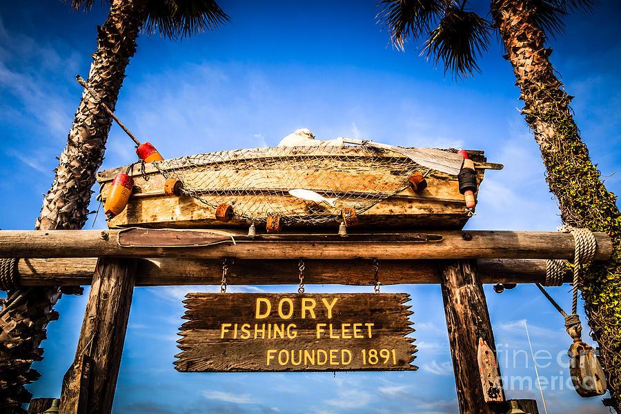 Dory fishing fleet picture newport beach california for Dory fishing fleet