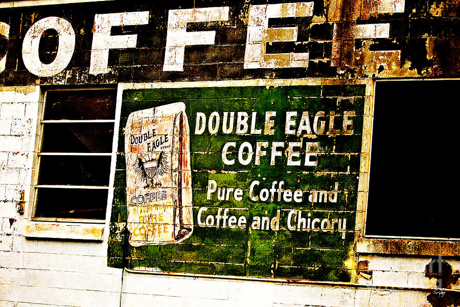 Double Eagle Coffee Photograph - Double Eagle Coffee by Scott Pellegrin