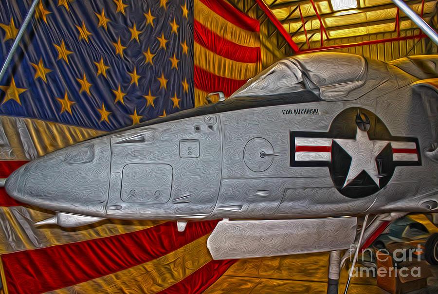 Douglas Skyhawk A-4l Painting