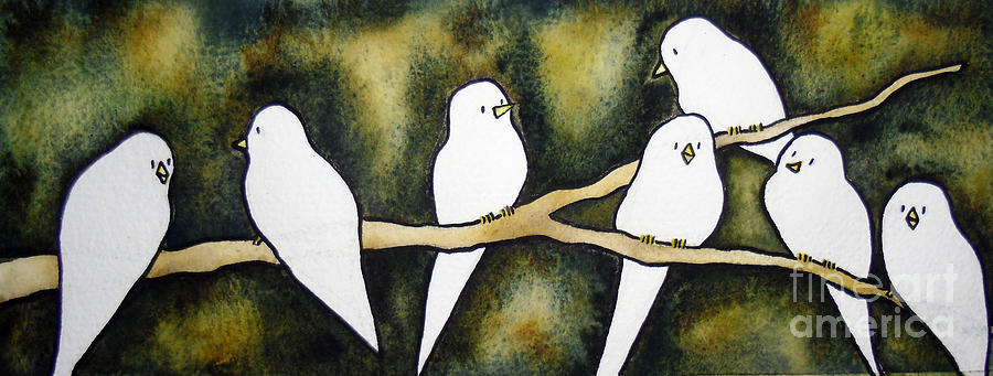 Doves Painting  - Doves Fine Art Print