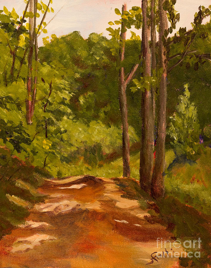 Down The Road Painting