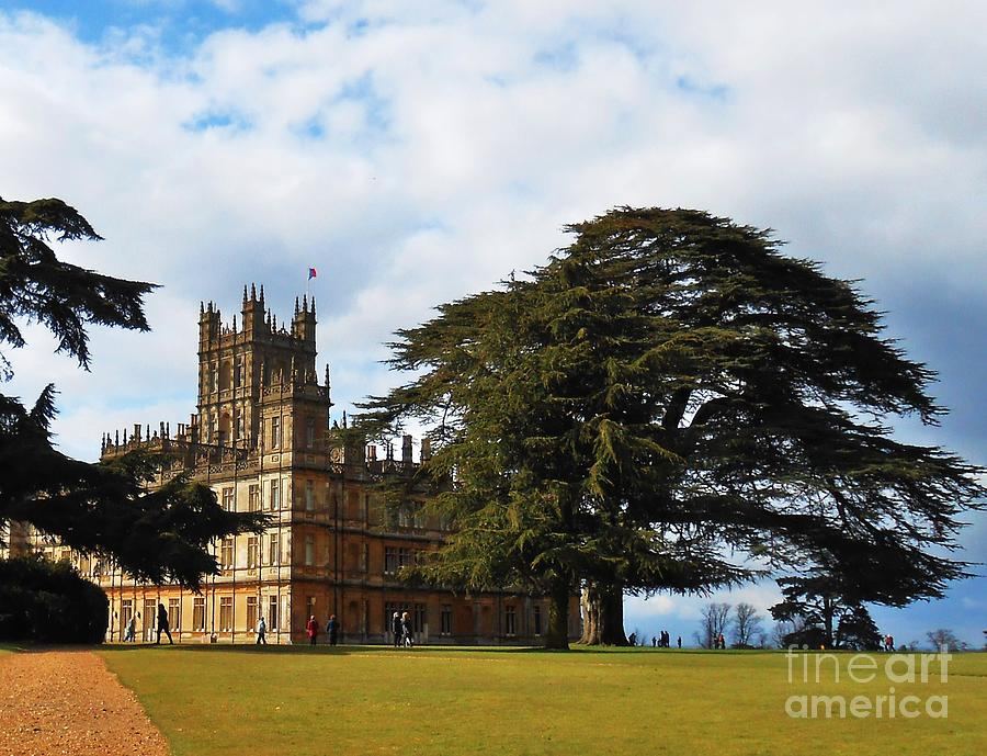 Downton Abbey Aka High Clere Castle 1 is a photograph by Courtney ...