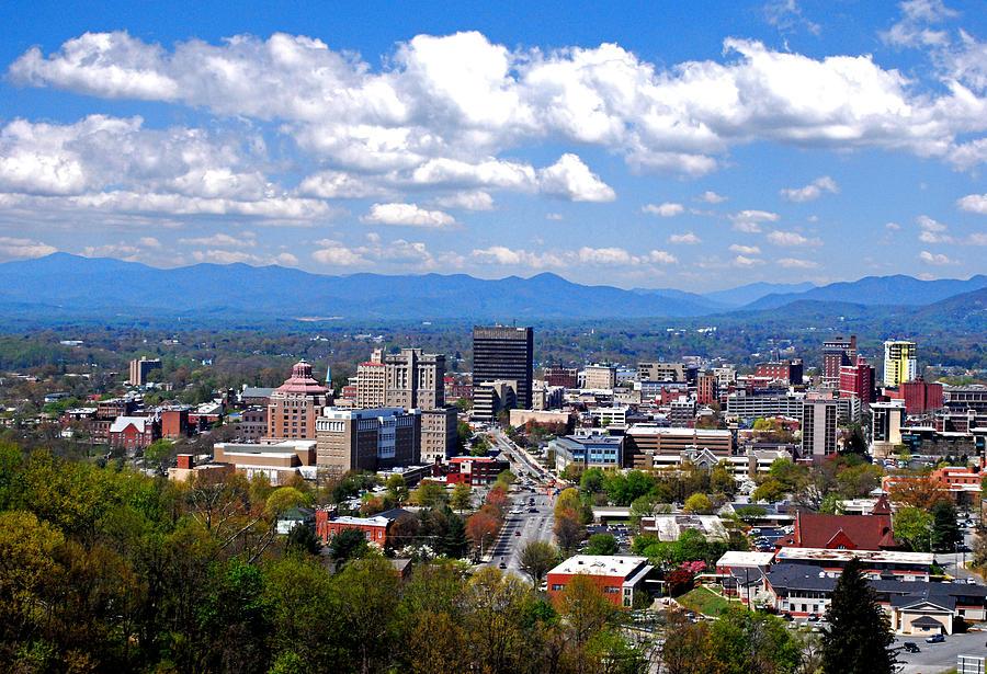 ... North Carolina Photograph - Downtown Asheville North Carolina by Ryan