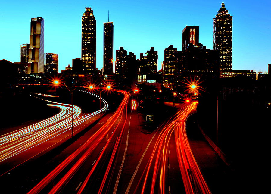Downtown Atlanta Photograph