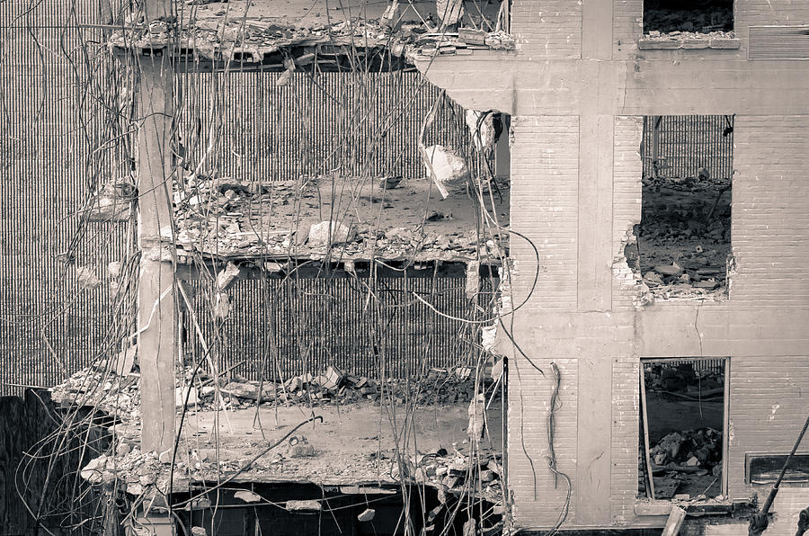 Downtown Deconstructed Photograph