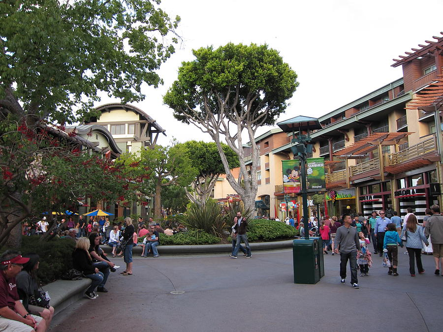 Downtown Disney Anaheim - 12128 Photograph  - Downtown Disney Anaheim - 12128 Fine Art Print