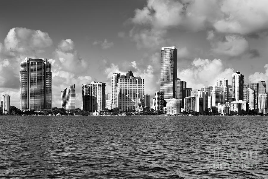 Downtown Miami Photograph  - Downtown Miami Fine Art Print