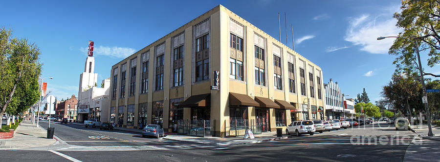 Downtown Pomona Photograph