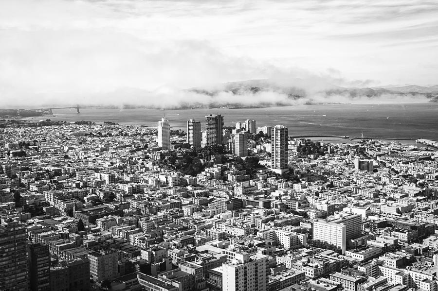 Downtown San Francisco Photograph  - Downtown San Francisco Fine Art Print
