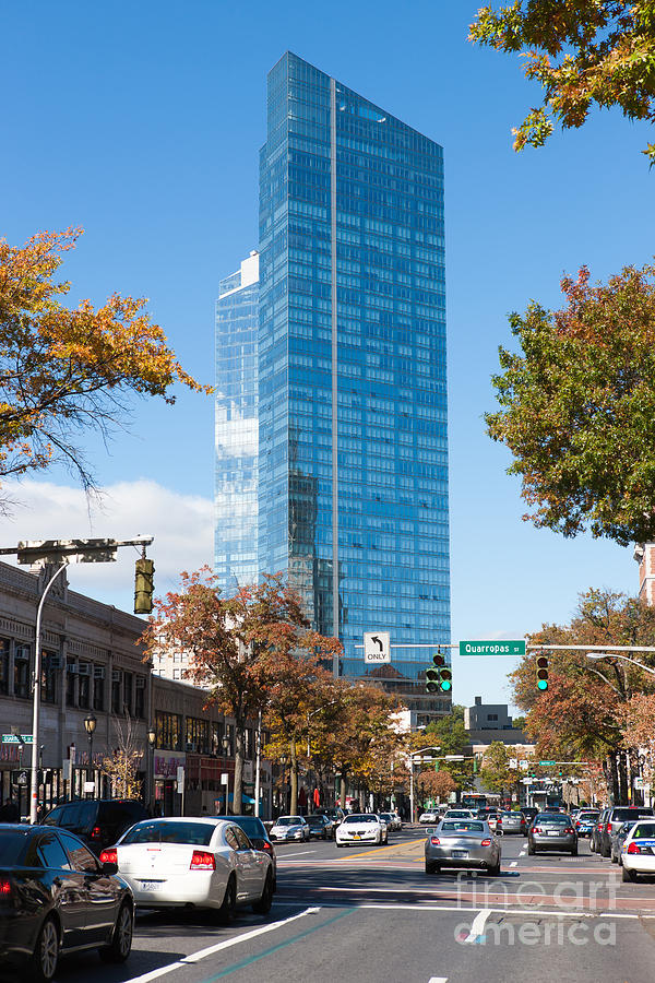 Downtown White Plains New York I Photograph by Clarence Holmes