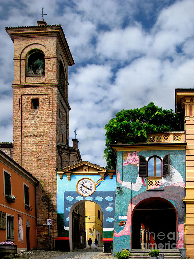 Dozza Italy  City pictures : Dozza.italy.city Of Art is a photograph by Jennie Breeze which was ...