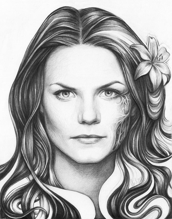 Dr. Cameron - House Md Drawing