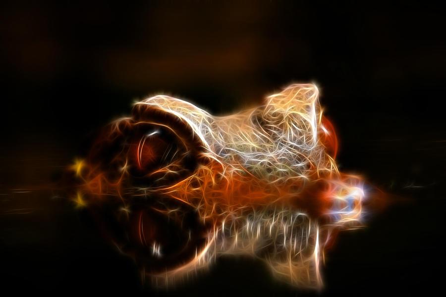 Dragon Photograph - Dragons Lair by Steve McKinzie