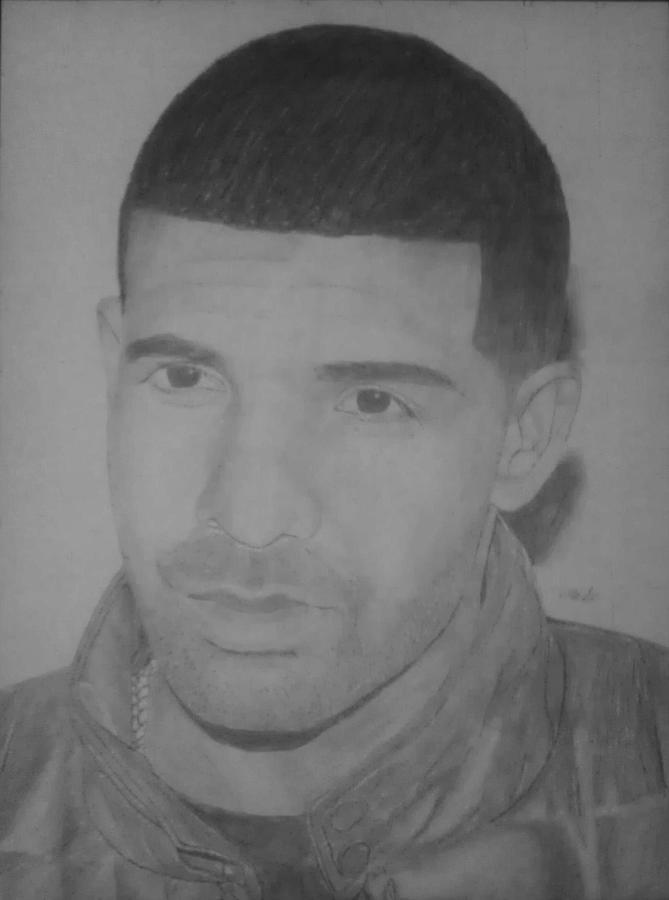 Drake Drawing - Drake by Milton  Gore