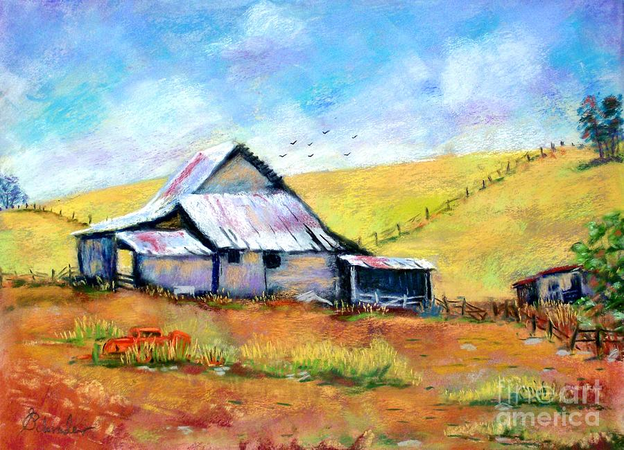 Drapper Valley Barn Pastel