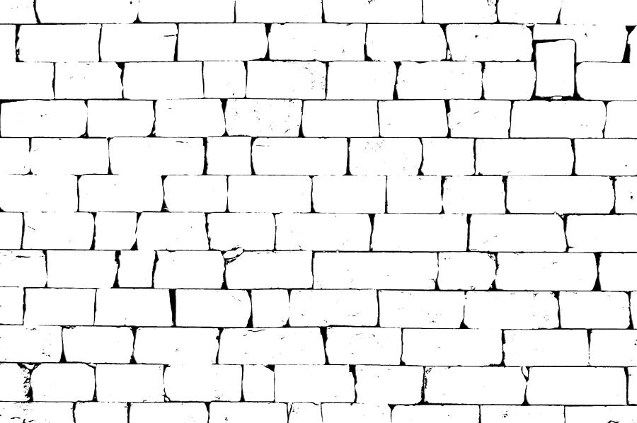how to draw brick texture