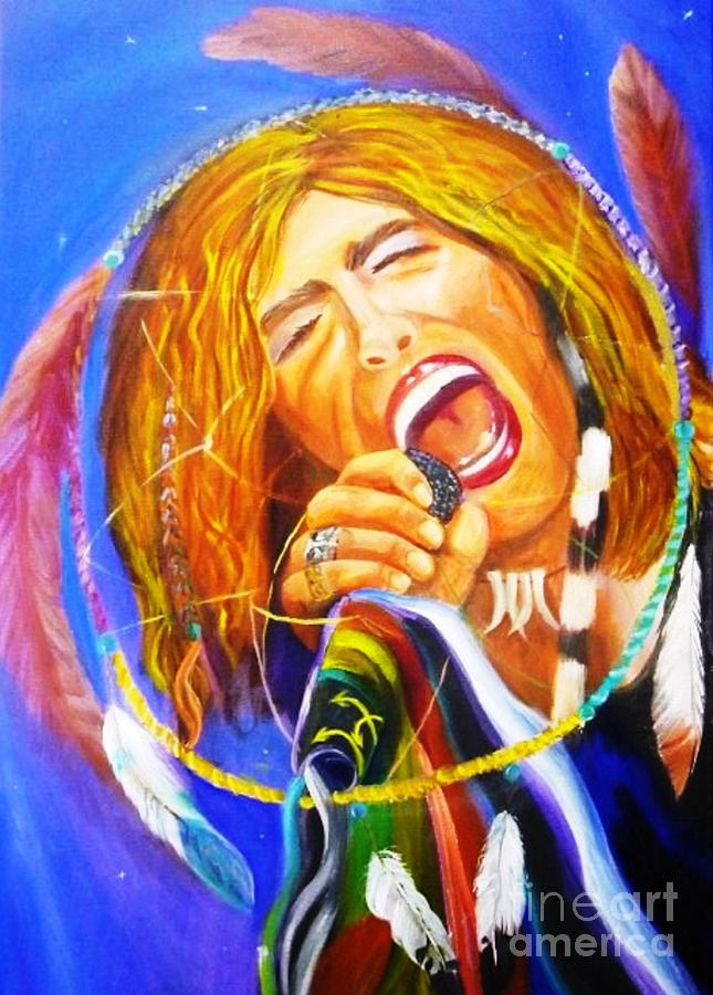 Steven Tyler Painting - Dream Catcher by To-Tam Gerwe