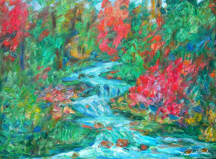 Dream Creek Painting  - Dream Creek Fine Art Print