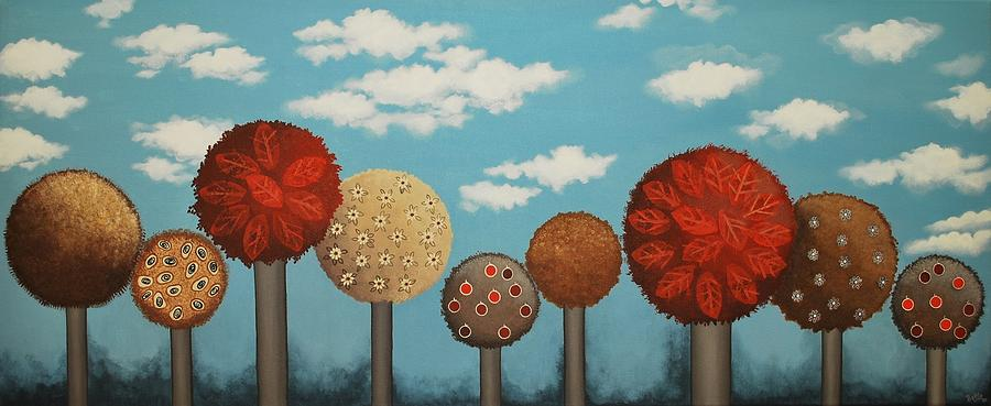 Dream Grove Painting  - Dream Grove Fine Art Print