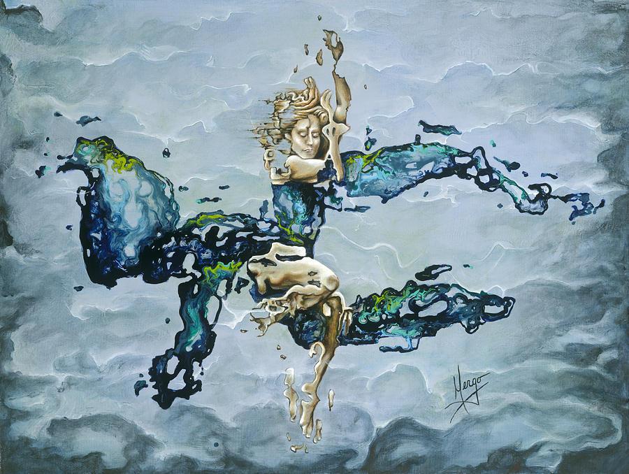Karina Painting - Dream by Karina Llergo Salto