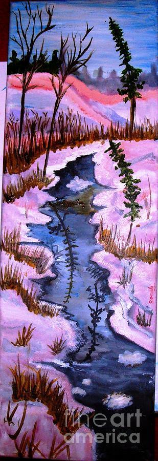 Dream Lake Painting