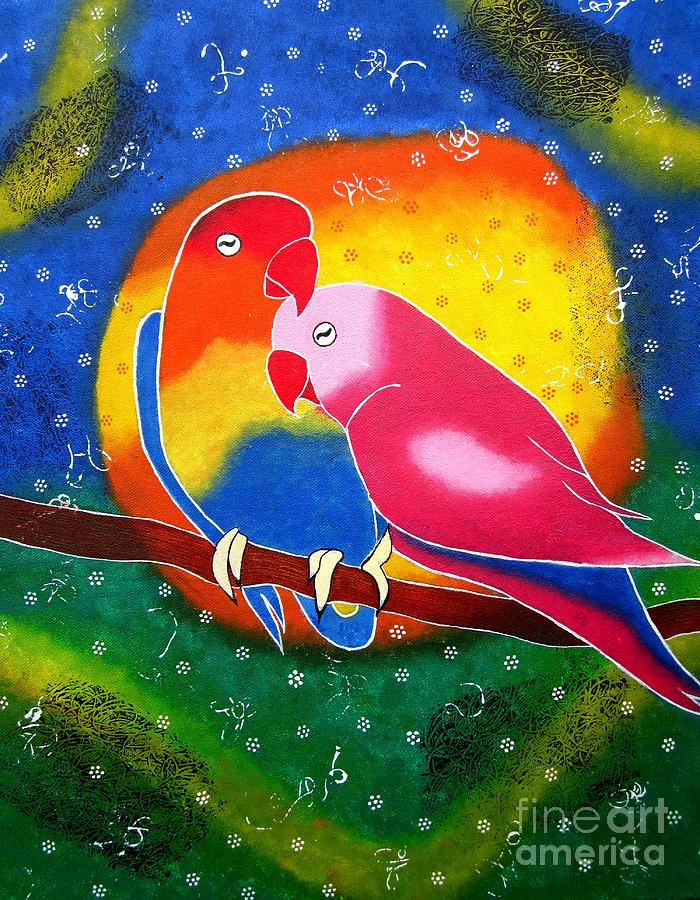 Dream Life-whimsical Painting Painting  - Dream Life-whimsical Painting Fine Art Print