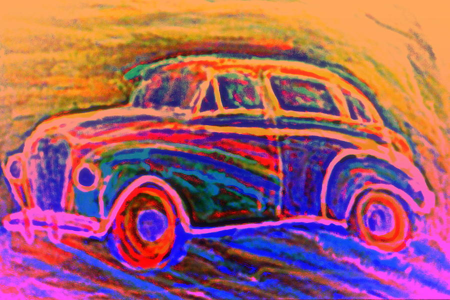 Dream Of A Car Painting  - Dream Of A Car Fine Art Print