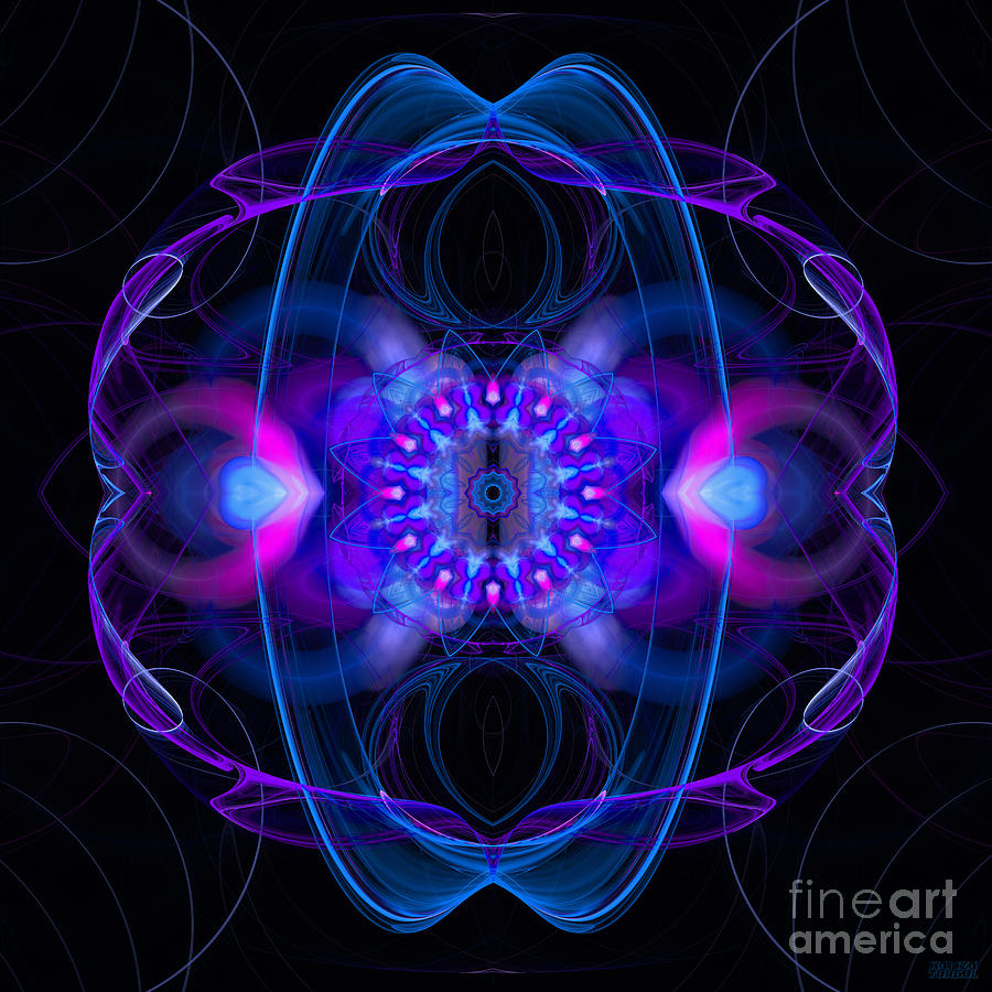 Dream Orbit Digital Art  - Dream Orbit Fine Art Print