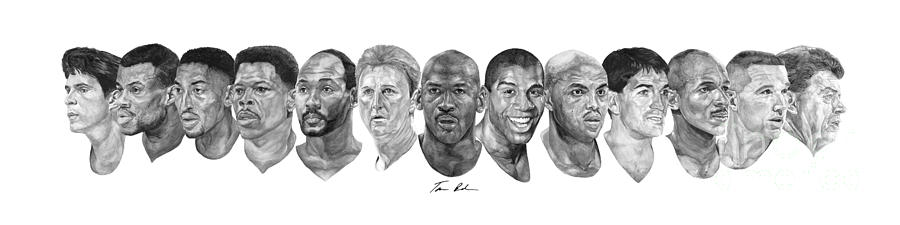 Dream Team Painting  - Dream Team Fine Art Print