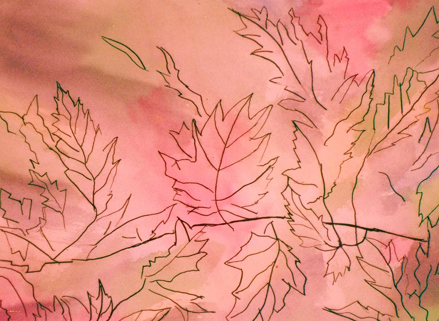 Dreaming Of Leaves Mixed Media
