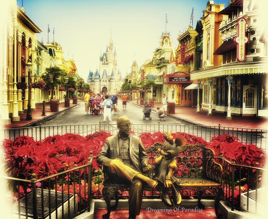 Dreaming Of Paradise Walt Disney World Photograph