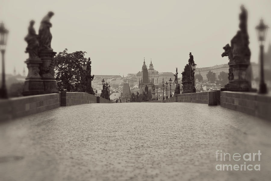 Photography Photograph - Dreaming Of Prague by Ivy Ho