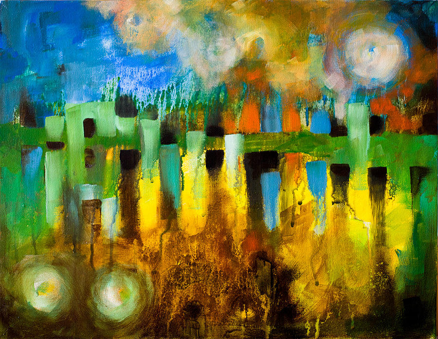Dreamland Painting  - Dreamland Fine Art Print
