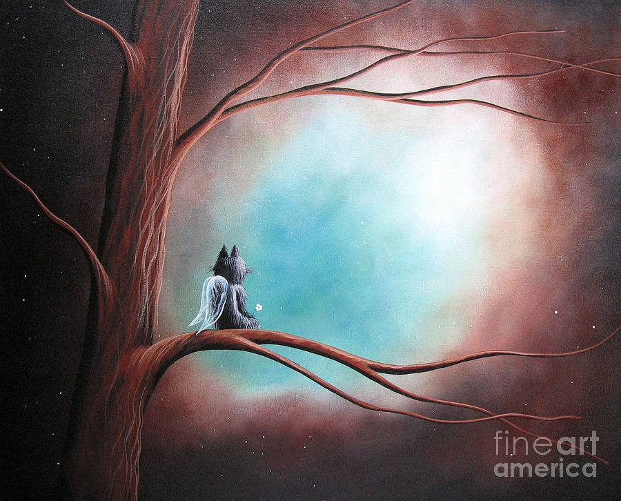 Dreams Can Take You Far By Shawna Erback Painting