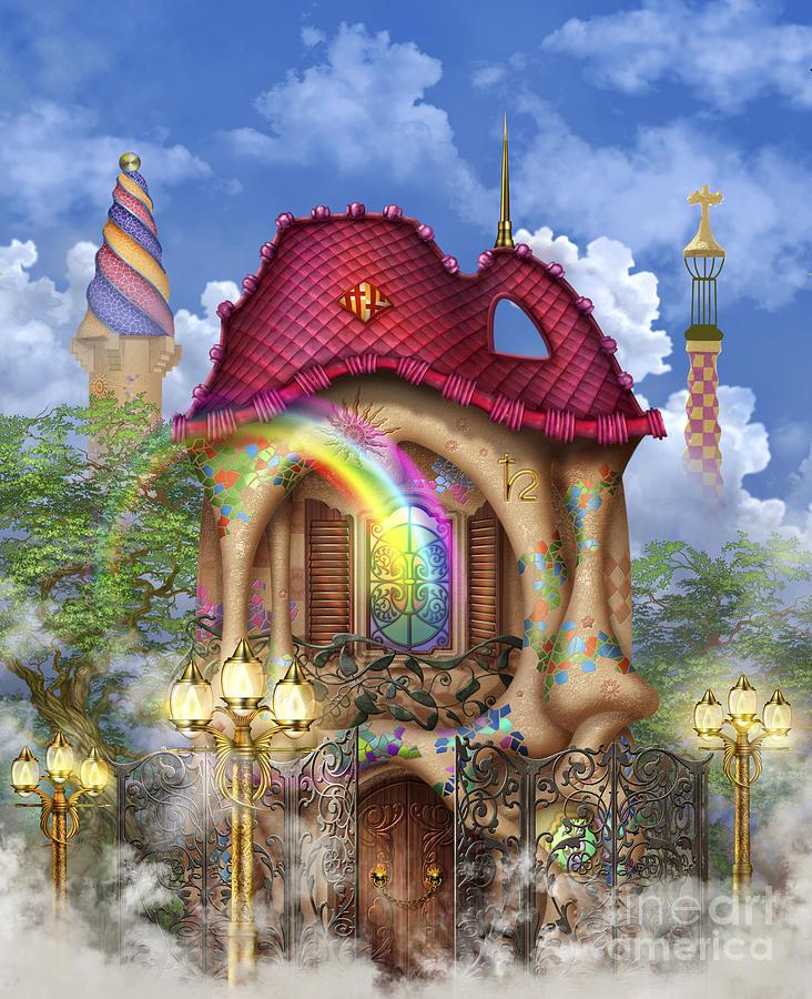 Dreams Of Gaudi Digital Art