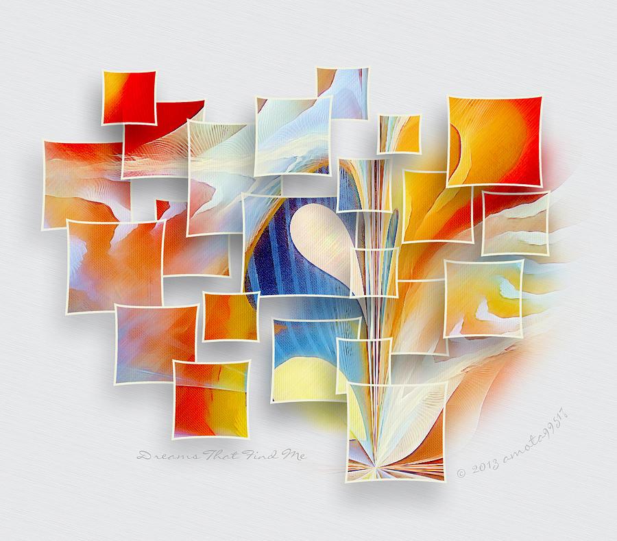 Dreams Digital Art - Dreams That Find Me by Gayle Odsather