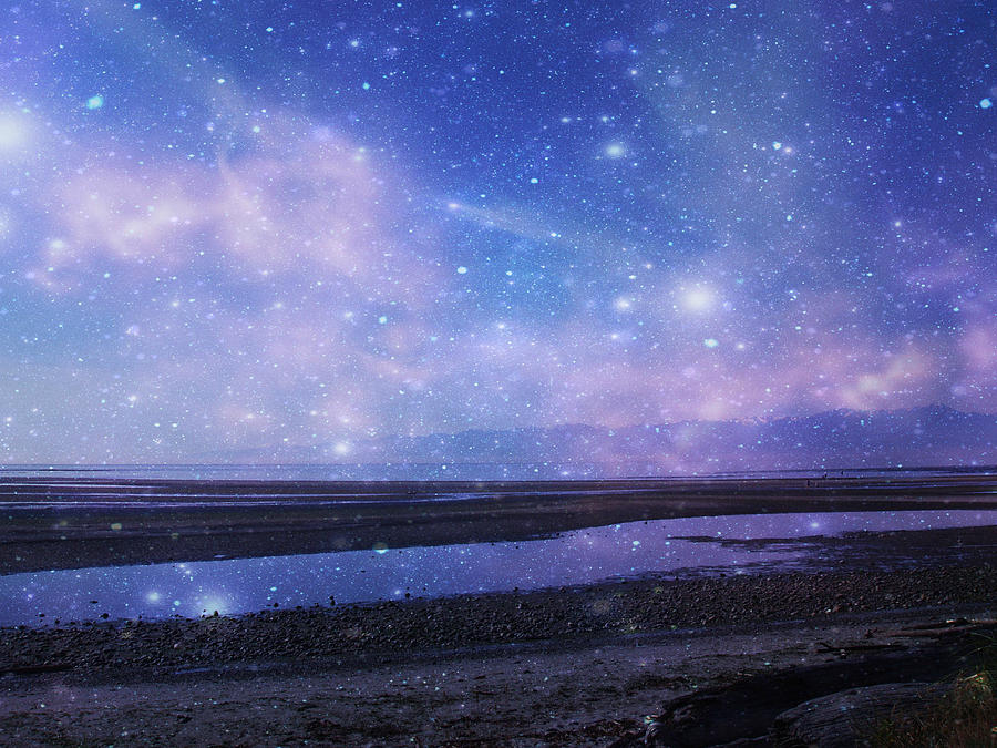 Starry Night Photograph - Dreamscape by Marilyn Wilson