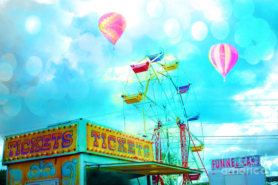 ... Kathy Fornal   Art > Photographs > Aqua Teal Carnival Art Photographs