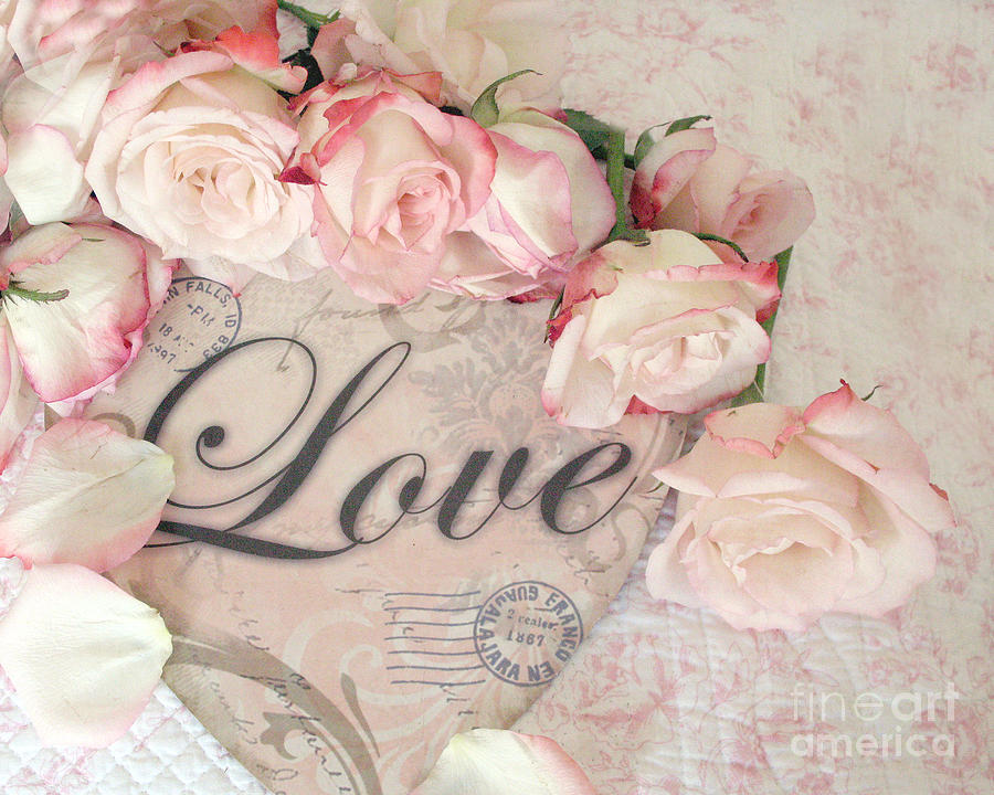 Pink love romantic pinterest for Shabby romantique