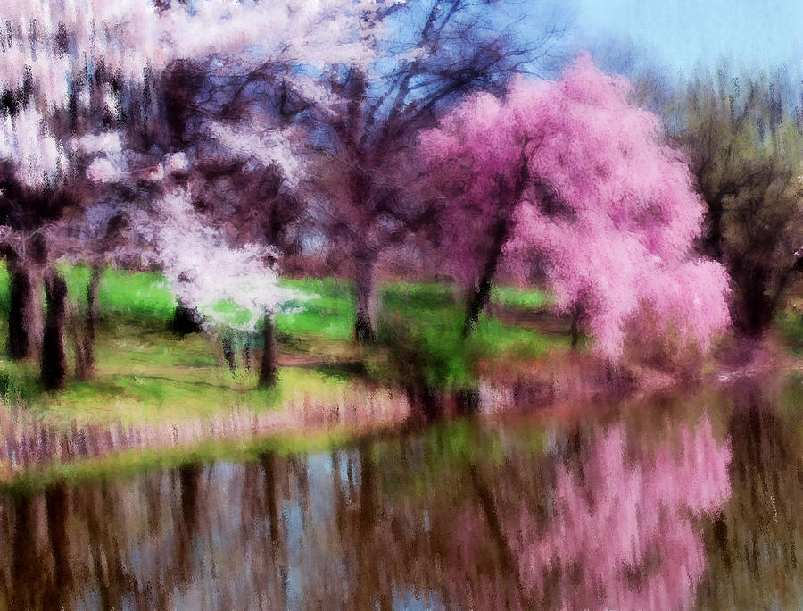 Dreamy Spring Painting