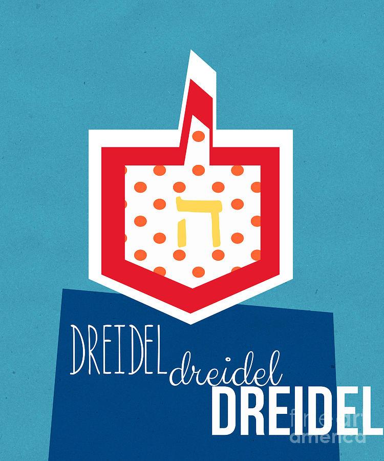 Dreidels Mixed Media
