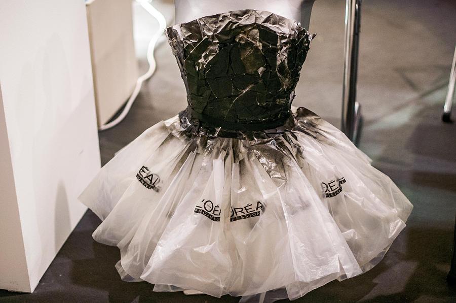 Consider, that Plastic bag dresses agree, rather