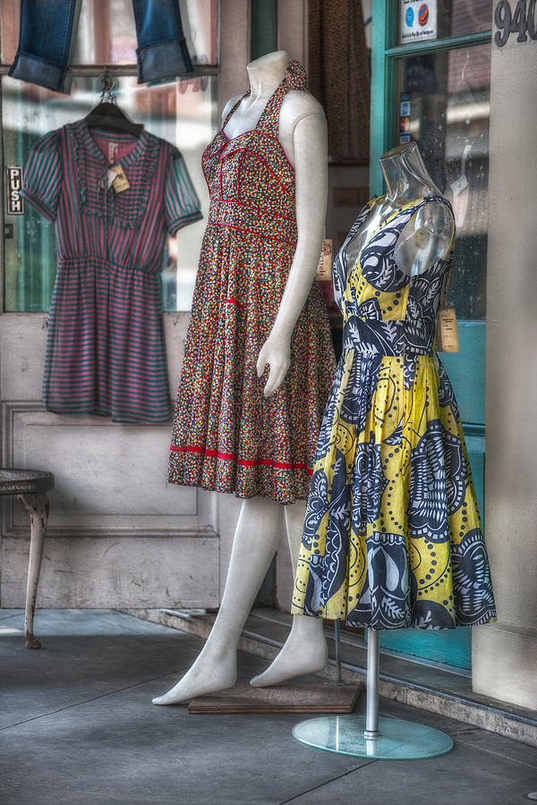 Dresses For Sale Photograph  - Dresses For Sale Fine Art Print