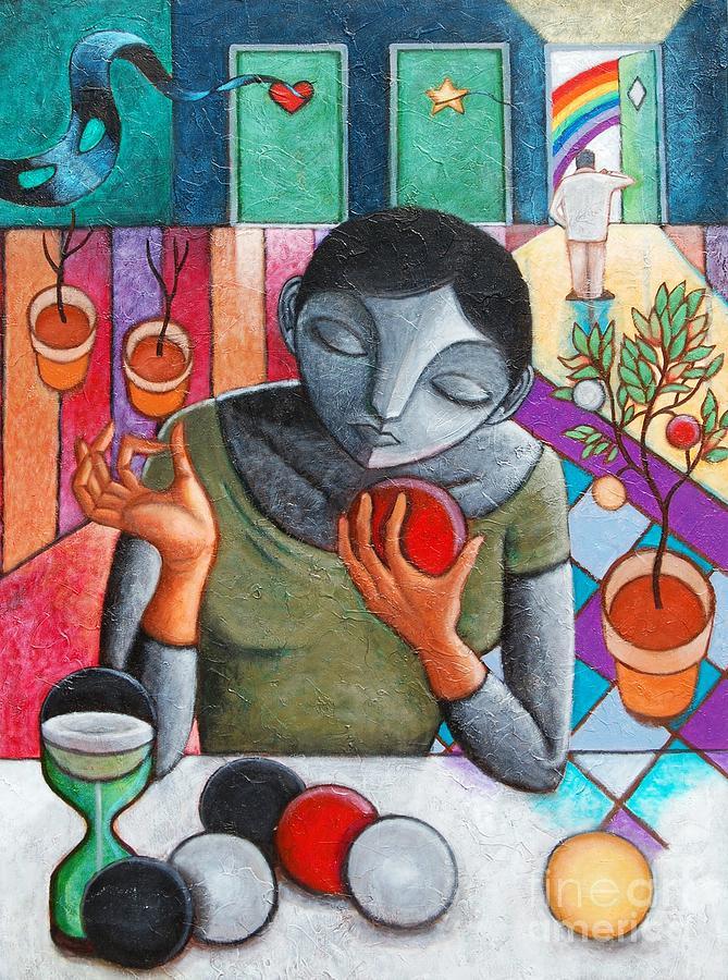 Paul Hilario Painting - Dubitatio by Paul Hilario