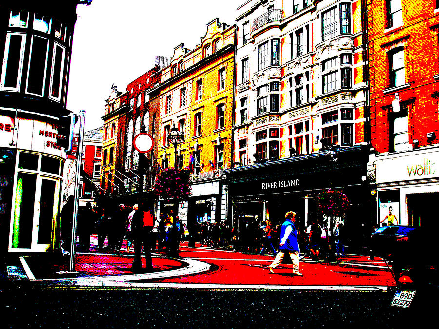 Dublin City Vibe Photograph  - Dublin City Vibe Fine Art Print